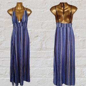 🆕 Band of Gypsies striped maxi dress size S